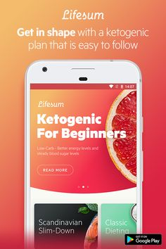 Going keto? Monitor your eating habits and get personal tips on how to improve with the Lifesum app. Get started today!