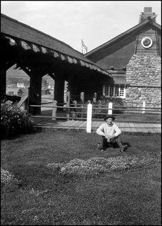 Gardiner Montana train depot about 1920. Gardiner Montana c19f9955d472
