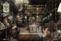 Madrid Book Publishers Association: Sherlock Holmes Advertising Agency:Grey, Madrid, Spain