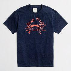 crab tee
