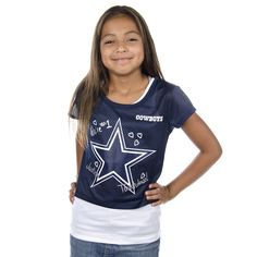 ~~~~~~~~GOT IT~~~~~~~~~  Dallas Cowboys Justice Crop Tee | Dallas Cowboys Clothing | Dallas Cowboys Store - Dallas Cowboys Pro Shop