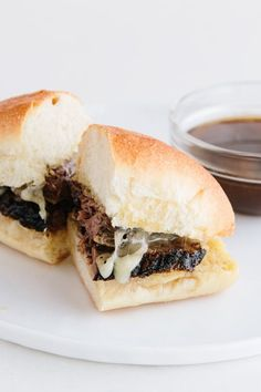 How To Make Slow-Cooker French Dip Sandwiches | Kitchn