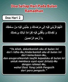 Doa hari ke 2 Ramadhan