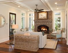 Three Bedroom Low Country Plan