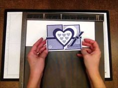 In this 1 Minute to WOW! Video Tutorial, I share how to create a reverse fold card.   More Stampin' Up! card ideas, paper crafting and stamping tips on my Stampin' Pretty blog, http://stampinpretty.com.  Mary Fish, Independent Stampin' Up! Demonstrator