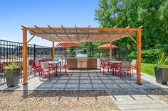 Grill up some grub and enjoy the long nights this summer at our grill stations. #Amenities #NowLeasing #MAApartments #IAmRenewed Grill Station, The Longest Night, Pergola, Layout, Outdoor Structures, Summer, Bar Grill, Summer Time, Page Layout