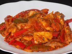 magiczna kuchnia Kasi: Kurczak z papryką