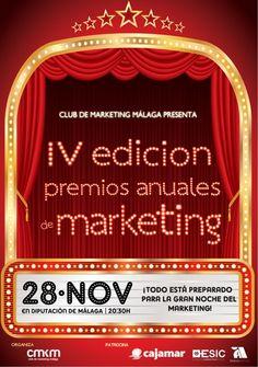 IV Edición Premios Anuales de Marketing organizados por el Club de Marketing Málaga