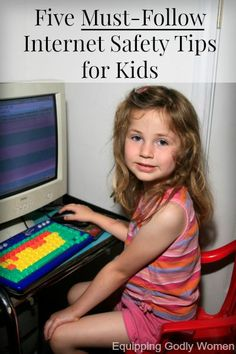 Don't let your kids near the computer until you read and do every single one of these five things! So important!