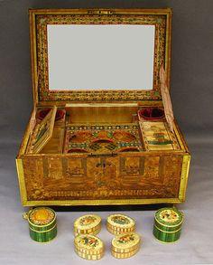 1804-1814 French Toilet box at the Metropolitan Museum of Art, New York .