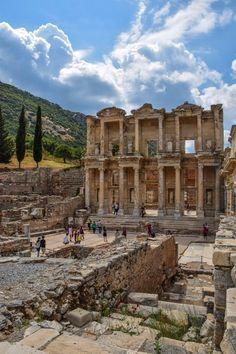 The Library of Celsus - Ephesus, Turkey