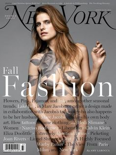 New York Mag (US)  Lake Bell stars nude newest cover New York Magazine   Design Director Thomas Alberty