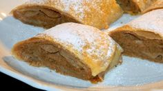 Mézes-diós házi rétes Strudel, Cornbread, Ethnic Recipes, Christmas, Dios, Millet Bread, Xmas, Navidad, Noel