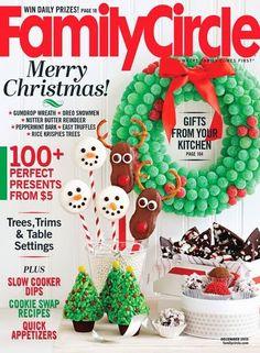 #FREE 1 Year Subscription To #FamilyCircle #Magazine!  #crafts #recipes #reading