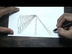Estudio de Perspectiva con un Punto de Fuga. Paisaje en Caricatura. - YouTube