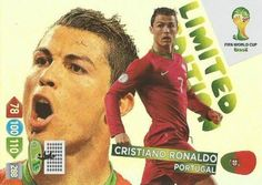 FIFA World Cup 2014 Brazil Adrenalyn XL Cristiano Ronaldo Limited Edition #championsleague #realmadrid
