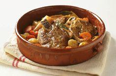 Lonchas de cordero en salsa. Ingredientes, elaboración y consejos de las mejores recetas de la gastronomía y la cocina típica y tradicional de Menorca.