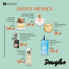 W październiku na wszystkich klientów perfumerii Douglas czeka wyjątkowa Oferta Miesiąca. Kosmetyki i zapachy najlepszych marek w atrakcyjnych cenach są dostępne przez cały miesiąc w perfumeriach Douglas oraz na www.douglas.pl.