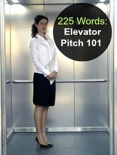 Speak Your Personal Brand: What's Your Elevator Pitch? Taking Back Time and Changing Lifestyles