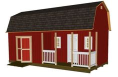 Great site with plans, tutorials, and anything else you would need to build a great looking shed or tiny house.