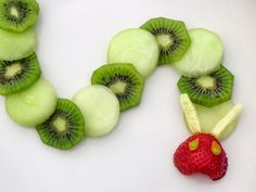 The Very Hungry Caterpillar Snack - SO cute!!