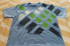 painted t-shirts to make with the kids