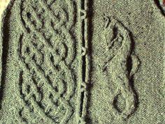 Ravelry: teerling's here be dragons - for a dragon loving knitter! :)