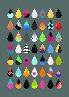 wildsunshine: society6.com/product/Colorful-rain_Print
