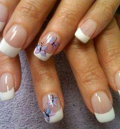 Decoracion de uñas con esmalte