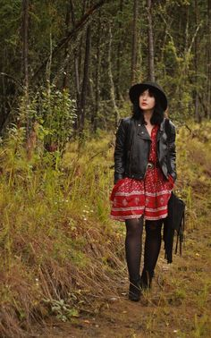 Alaskan Weredork: A Style Diary: It's Like Magic Red And White Dress, Style Diary, Love Photography, Thrifting, Hipster, Punk, Magic, Lifestyle, Dresses