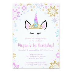 Rose gold 20th birthday party invitation faux foil party invitations winter unicorn birthday invitations filmwisefo