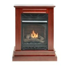 Ventless+Gas+Freestanding+Fireplaces   Compact Parlor Fireplaces – Vent-free heaters and fireplaces