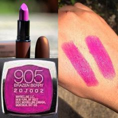 DUPE ALERT !!! MAC,Temperature Rising lipstick in Feel my Pulse is very close in color to maybelline vivid lipsticks in BRAZENBERRY .It's almost an exact dupe ! Texture and sheen is exactly the same , brazenberry is just a bit pinker and less pigmented but slightly !!