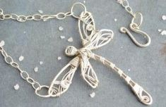 wire wrapped dragonfly by Tina Holland