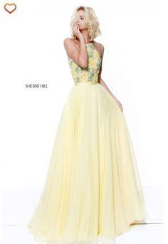 Sherri Hill @ Normans Bridal! In stock...417-866-9800