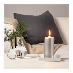 VINTER 2016 Bezzapachowa świeca bryłowa  - IKEA