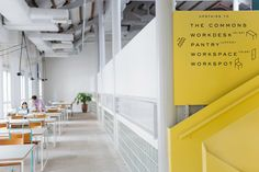 Branding, signage and wayfinding for Singapore co-working space The Working Capitol by Graphic Design Studio Foreign Policy