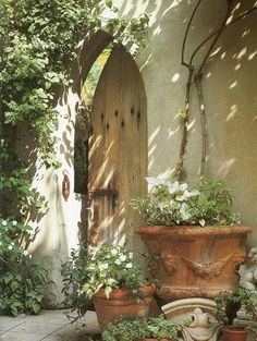 a Tuscan-y patio