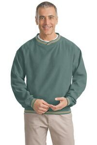 Port Authority Ultra-soft Microfiber Wind Shirt Item #YTJYG-EOPKI $49.98 each email info@powerupmarketinggroup.com to request a quote on customizing this shirt with your logo or graphic. #powerupmarketng #mensapparel #pullover #microfiber #promotional #branded