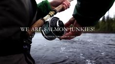 Statement from the jury: WE ARE SALMON JUNKIES - a fantastic film with big screen production values. Salmon Junkies is a lesson in how to combine the look of an… Fly Fishing Tips, Fishing Quotes, Atlantic Salmon, Saltwater Fishing, Official Trailer, Hd 1080p, My Passion, Teaser, Photo And Video