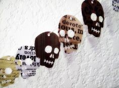 Skull party decorations made charming!