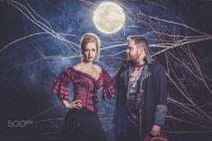 Moonstruck by Jaco Bothma on Jaco, Conceptual Photography, Studio Shoot, Couple Shoot, Tim Burton, Bridal Portraits, Fashion Shoot, Wedding Events, Empire