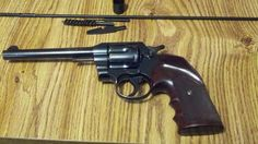1929 Colt Official Police .38 Special.  Inherited From Amanda's Grandfather