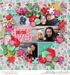 Get festive: Valentines day templates by Cindy Schneider Stuck on you by Amber Shaw