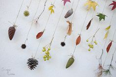 SUGAR LANE: DIY Decor: Autumn mobile