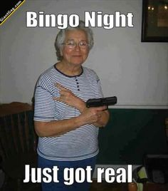 Bingo Night Just Got Real | Click the link to view full image and description :)