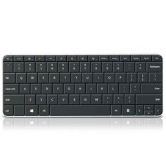 Microsoft PL2 Wedge Mobile Keyboard for Business Bluetooth Wireless Windows 8/7 #Microsoft
