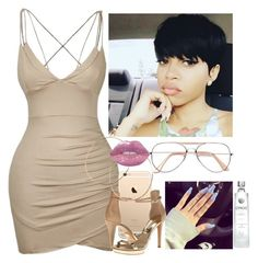 """""""Flawless kid"""" by saucinonyou999 ❤ liked on Polyvore featuring Michael Kors and Jennifer Creel"""