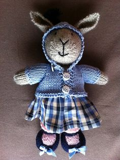 http://www.ravelry.com/projects/ghislaine9151/bunny-girl-in-a-dotty-dress