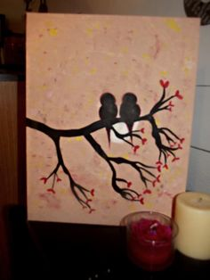 L♥VE this, my daughter painted it for my birthday♥